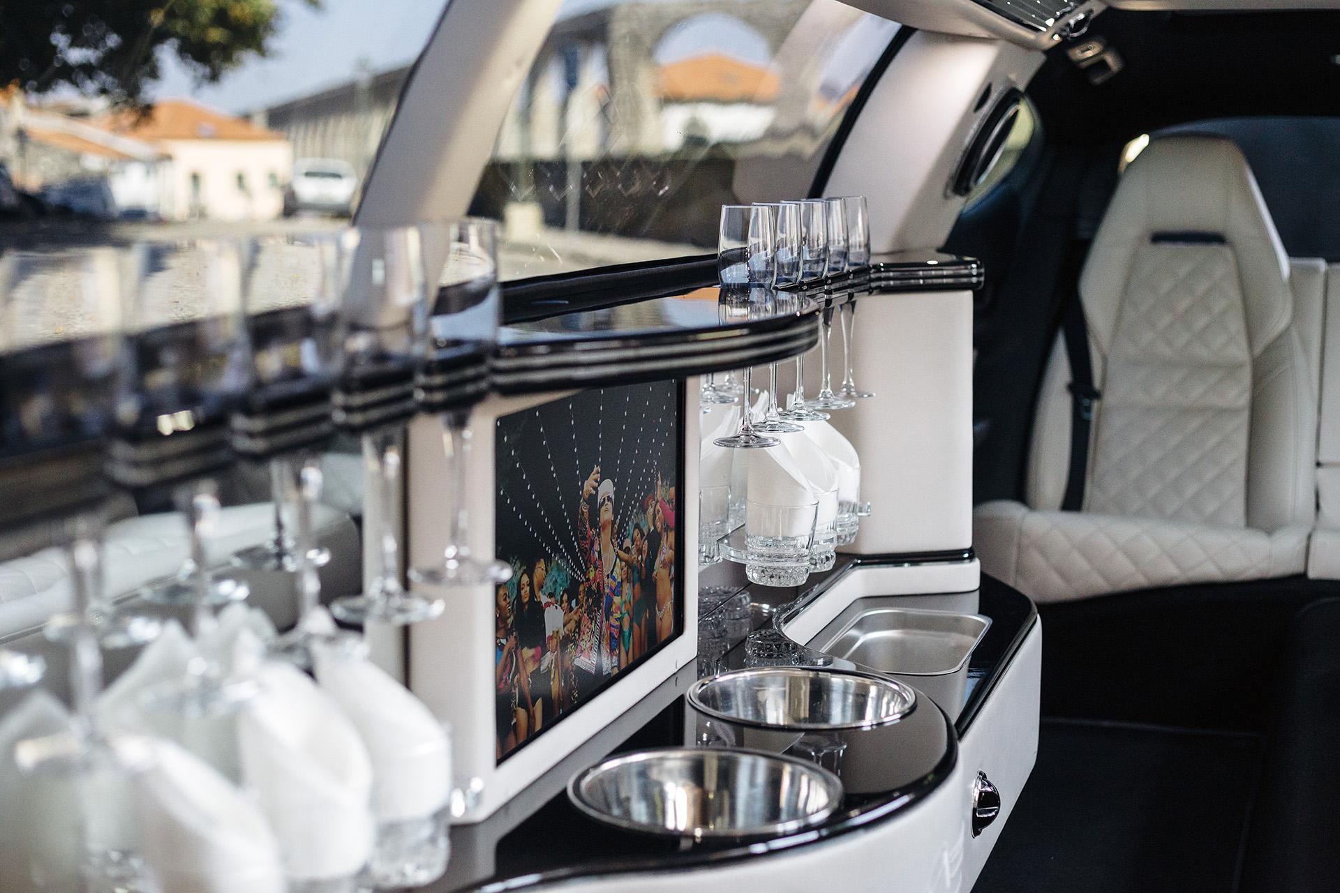 Interior Limousine Porsche Panamera